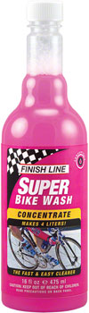 Finish Line Super Bike Wash Cleaner Concentrate, 16oz (Makes 2 Gallons)
