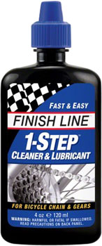Finish Line 1-Step Cleaner and Chain Lubricant, 4oz Drip