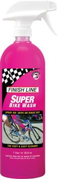 Finish Line Super Bike Wash Cleaner, 34 oz Hand Spray Bottle