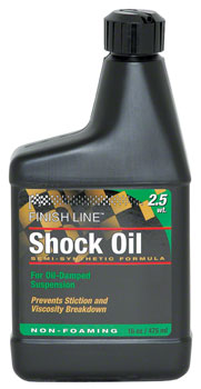 Finish Line Shock Oil 2.5 Weight, 16oz