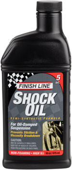 Finish Line Shock Oil 5 Weight, 16oz