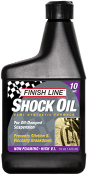 Finish Line Shock Oil 10 Weight, 16oz