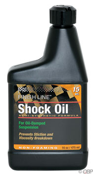 Finish Line Shock Oil 15 Weight, 16oz