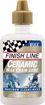Finish Line Ceramic Wax Chain Lubricant, 2oz Drip