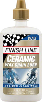 Finish Line Ceramic Wax Chain Lubricant, 4oz Drip