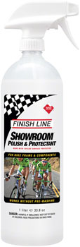 Finish Line Showroom Polish and Protectant Cleaner, 32oz Spray Bottle