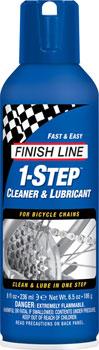 Finish Line 1-Step Cleaner and Chain Lubricant, 8oz Aerosol