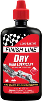 Finish Line DRY Chain Lubricant, 4oz Drip