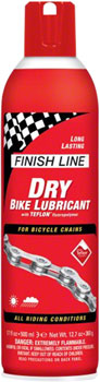 Finish Line DRY Chain Lubricant, 17oz Aerosol