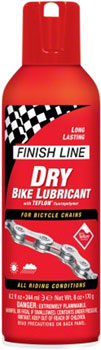 Finish Line DRY Chain Lubricant, 8oz Aerosol