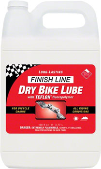 Finish Line DRY Chain Lubricant, 1 Gallon