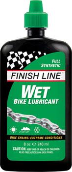 Finish Line WET Chain Lubricant, 8oz Drip