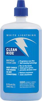 White Lightning Clean Ride Chain Lubricant, 8oz Drip