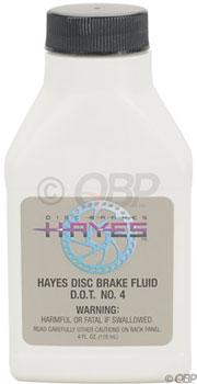 Hayes DOT 4 Brake Fluid, 4oz