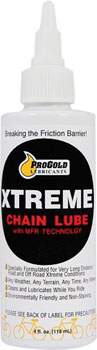 ProGold Extreme Chain Lube Squeeze Bottle: 4oz