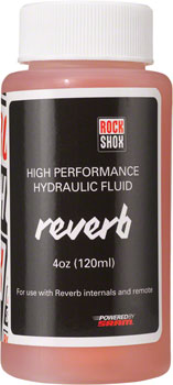 RockShox Reverb Hydraulic Fluid, 120ml Bottle, Reverb/Sprint Remote