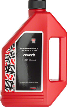 RockShox Reverb Hydraulic Fluid, 1 Liter Bottle, Reverb/Sprint Remote