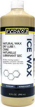 Pedro's Chain Lubricant Ice Wax 32oz/946ml Natural Wax Dry