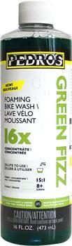 Pedro's Green Fizz Bike Wash 16x Concentrate: 16oz/475ml makes 2+ gallons