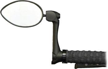 CycleAware Urbie Urban Bar-end Mirror: Black