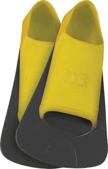 TYR Burner EBP Swim Fin: Yellow, Mens MD, Fits Men's 7-9, Women's 8.5- 10.5