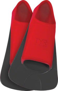 TYR Burner EBP Swim Fin: Red, Mens LG, Fits Men's 9-11, Women's 10.5- 12.5