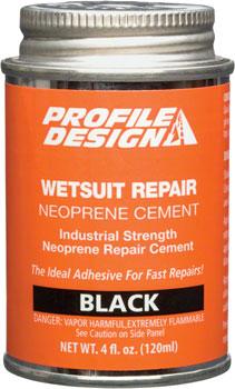 Profile Design Wetsuit Neoprene Repair Cement: 4oz