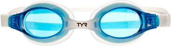 TYR Swimple Kids Goggle: Clear Gasket/Blue Lens