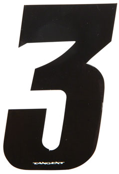 Tangent 3 BMX Number Pack 3 (10-Pack)