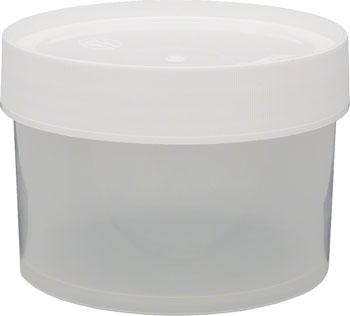 Nalgene Straight Side Wide Mouth Jar: 16oz, Clear
