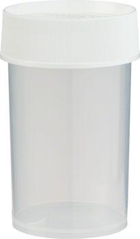 Nalgene Straight Side Jar: 8oz, Clear