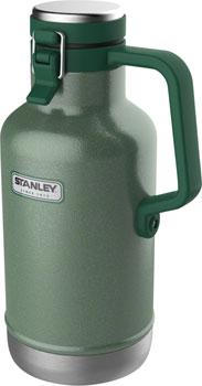 Stanley Classic Vacuum Growler: Hammertone Green, 64oz