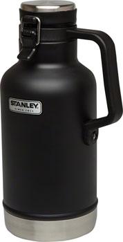 Stanley Classic Vacuum Growler: Matte Black, 64oz