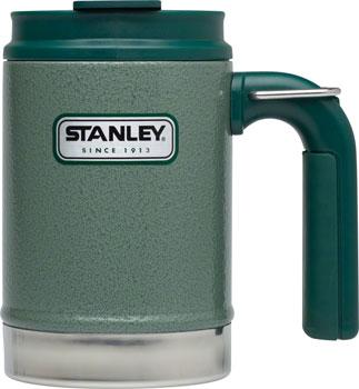 Stanley Classic Vacuum Camp Mug: Hammertone Green, 16oz