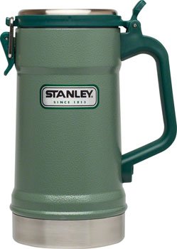 Stanley Classic Vacuum Stein: Hammertone Green, 24oz