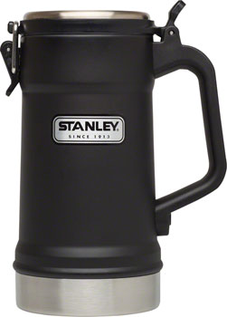 Stanley Classic Vacuum Stein, Matte Black, 24oz