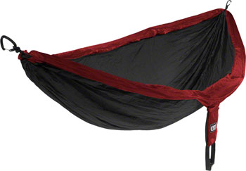 Eagles Nest Outfitters DoubleNest Hammock: Red/Charocal