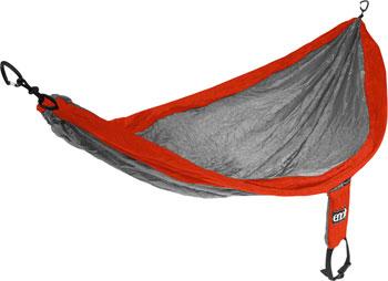 Eagles Nest Outfitters SingleNest Hammock: Orange/Gray