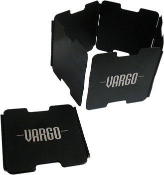 Vargo Aluminum Windscreen: Black