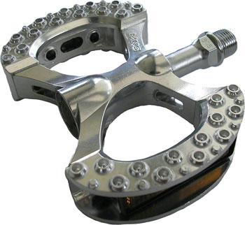 MKS Lambda Platform Pedals 9/16 Alloy Silver