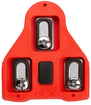 VP ARC 1 LOOK Delta Cleats, 9 Degree Red