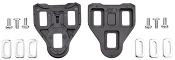 VP BLK 1 LOOK Delta Cleats, Fixed Black