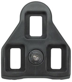 Wellgo RC-6 Look ARC Compatible Cleats, Black 3d Float