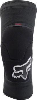 Fox Racing Launch Enduro Knee Guards: Black SM