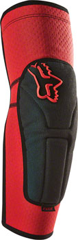 Fox Racing Launch Enduro Elbow Guard: Red MD