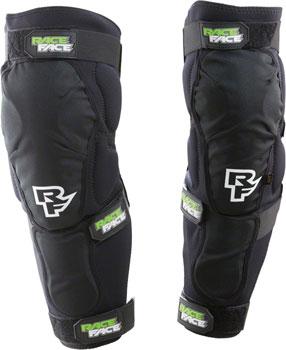 RaceFace Flank Leg Guard: Black XL