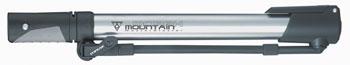 Topeak Mountain Morph Frame Pump: Silver/Black