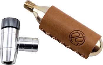 Portland Design Works Shiny Object CO2 Inflator: 16g Cartridge with Sleeve