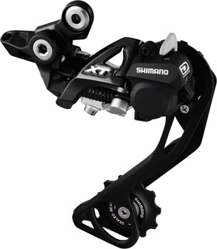 Shimano XT RD-M786-SGS Rear Derailleur - 10 Speed, Long Cage, Black