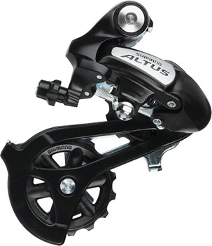 Shimano Altus RD-M310 Rear Derailleur - 7, 8 Speed, Long Cage, Black